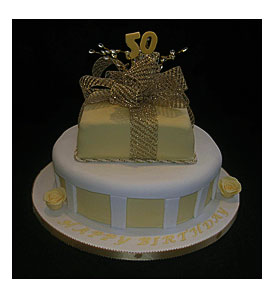 50th Birthday Cake Decorating Ideas