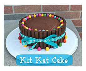 Birthday Cake Ideas Kit Kat Recipe Little Miss Kate