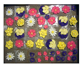 Cake Decorating Flowersouts Set Makes Realistic Edible Flowers