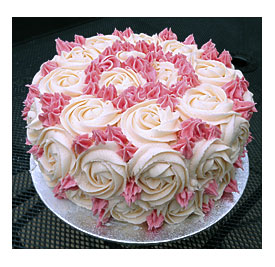 Cake Decorating Roses