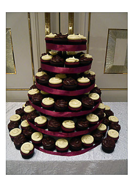 Clear Cupcake Tower Dessert Or Cupcake Tower Tier Round