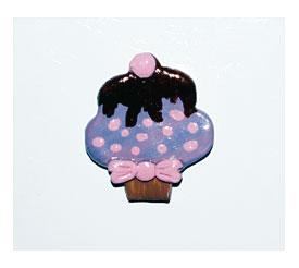 Cupcake Magnetsset Of 3 Cupcake Magnets Cupcake Fridge