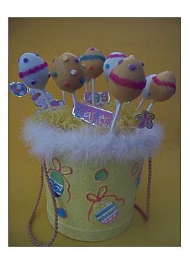 Easter Egg Cake Popssweet Creations Spring Shapes Cake Pop