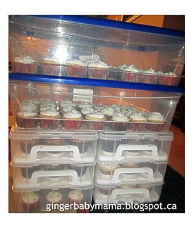 Muffin Storage Containers These muffins cups do not need non