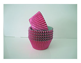 Pink Foil Cupcake Linerspink Mommy To Be Sash Pack Of 32