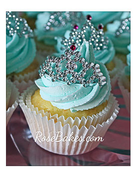 Princess Tiara Cupcake Cake Ideas And Designs