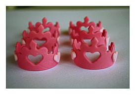 Princess Tiara Fondant Cupcake Toppers By Clementinescupcakes