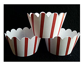 Rectangle Cupcake Liners Cupcake Paper Baking Cup Liners
