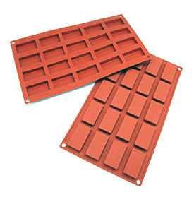 Small Baking Moldscavity Silicone Brownie Squares Baking Mold