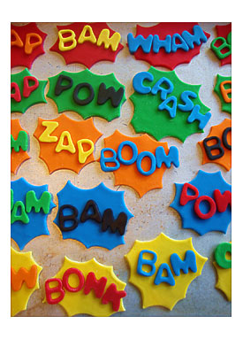 Superhero Cupcakes Toppersi Can Also Make Toppers Of Your