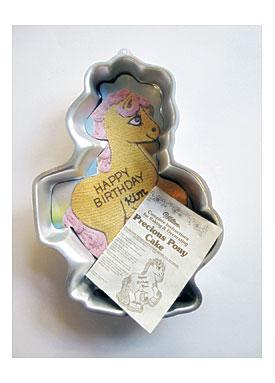 PRECIOUS PONY My Little Pony Wilton Cake Pan By Junksavant